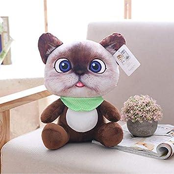 CGDX 1 unid 20 cm Mini Lindo Gato de Peluche Juguetes de Peluche Animales de Peluche de Dibujos Animados Gato Muñeca Juguetes para Niños Juguetes Niñas Regalos marrón Oscuro: Amazon.es: Juguetes y