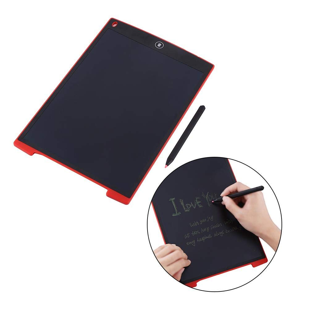 Red 12 Inch,red/&Green Wal front Digital Portable Mini LCD Tablet Drawing Board,Kids and Adults at Home,School and Work Office