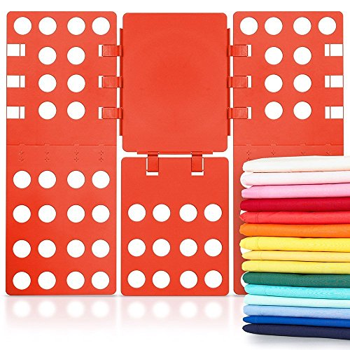Clothes folders T Shirt Fold Board RED - 4