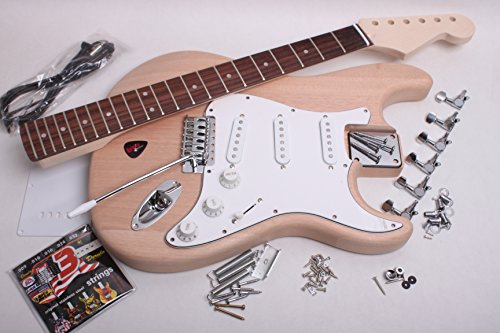 strat electric guitar kit buy online in uae musical instruments products in the uae see. Black Bedroom Furniture Sets. Home Design Ideas