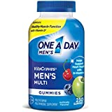 One A Day Men's VitaCraves Multivitamin Gummies, Supplement with Vitamins A, C, E, B6, B12, and Vitamin D, 230 Count