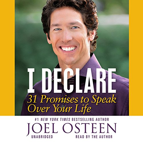 I Declare: 31 Promises to Speak Over Your Life Audiobook [Free Download by Trial] thumbnail