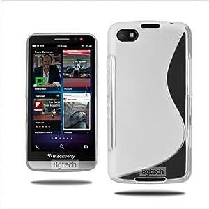 8gtech Grey TPU S-Line Case For BlackBerry Z30