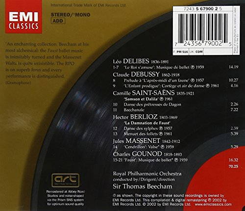 CHARLES GOUNOD - French Ballet Music great Recordings Of Century - CD NEW - $48.49