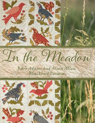 In the Meadow Cross Stitch Book and Free Embellishment