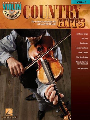Country Hits - Violin Play-Along Volume 9 (Bk/CD)