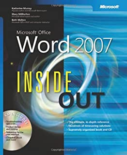 Microsoft word 2007 bible herb tyson 9780470046890 amazon books microsoft office word 2007 inside out fandeluxe Image collections
