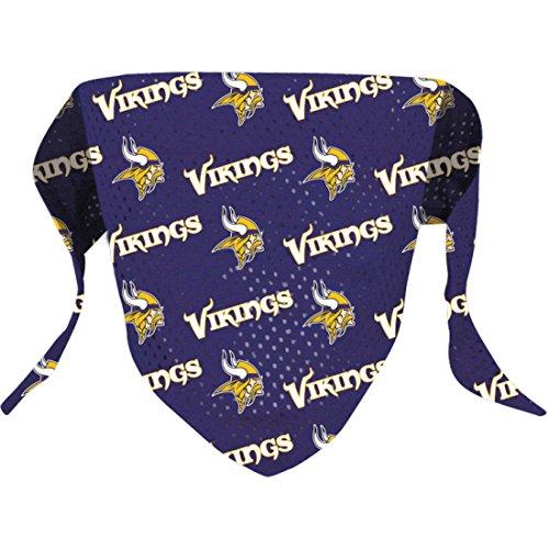 Dog Viking Costumes (Hunter NFL Minnesota Vikings Pattern Bandana for Pets,  Small/Medium)