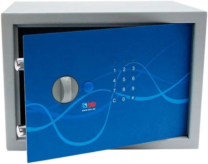 Btv sydney - Caja fuerte -25 250x350x250 azul: Amazon.es: Bricolaje y herramientas
