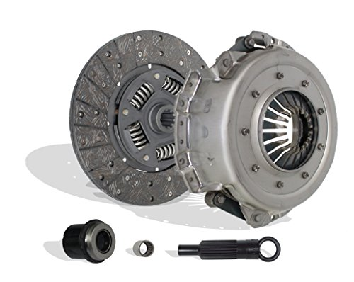 Clutch Kit Works With Ford Bronco F150-350 E150-350 Econoline Custom Eddie XL XLT 1988-1992 4.9L L6 GAS OHV Naturally Aspirated (5 Speed Trans) ()