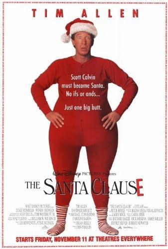 Amazon.com: The Santa Clause 27x40 Movie Poster (1994): Prints: Posters &  Prints