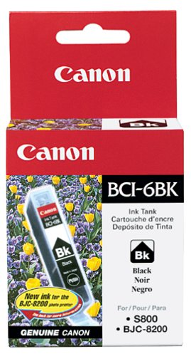 Canon BCI-6BK Ink Tank-Black