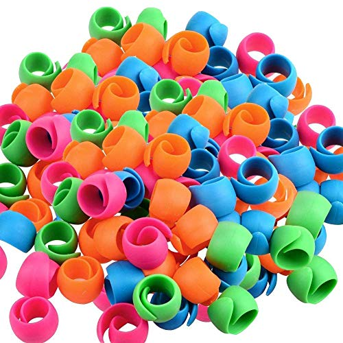 (Thread Spool Huggers for Sewing Machine to Prevent Thread Unwinding No Loose Ends or Thread Tails(100pcs))