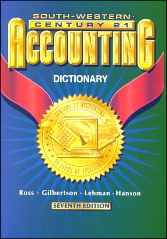 Century 21 Accounting 7E - Dictionary: English