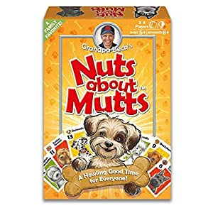 Grandpa Beck's Nuts About Mutts Card Game, from the creators of Cover Your Assets