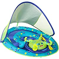 SwimWays Baby Spring Float Activity Center with Canopy,...