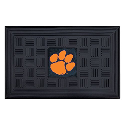 FANMATS NCAA Clemson University Tigers Vinyl Door Mat