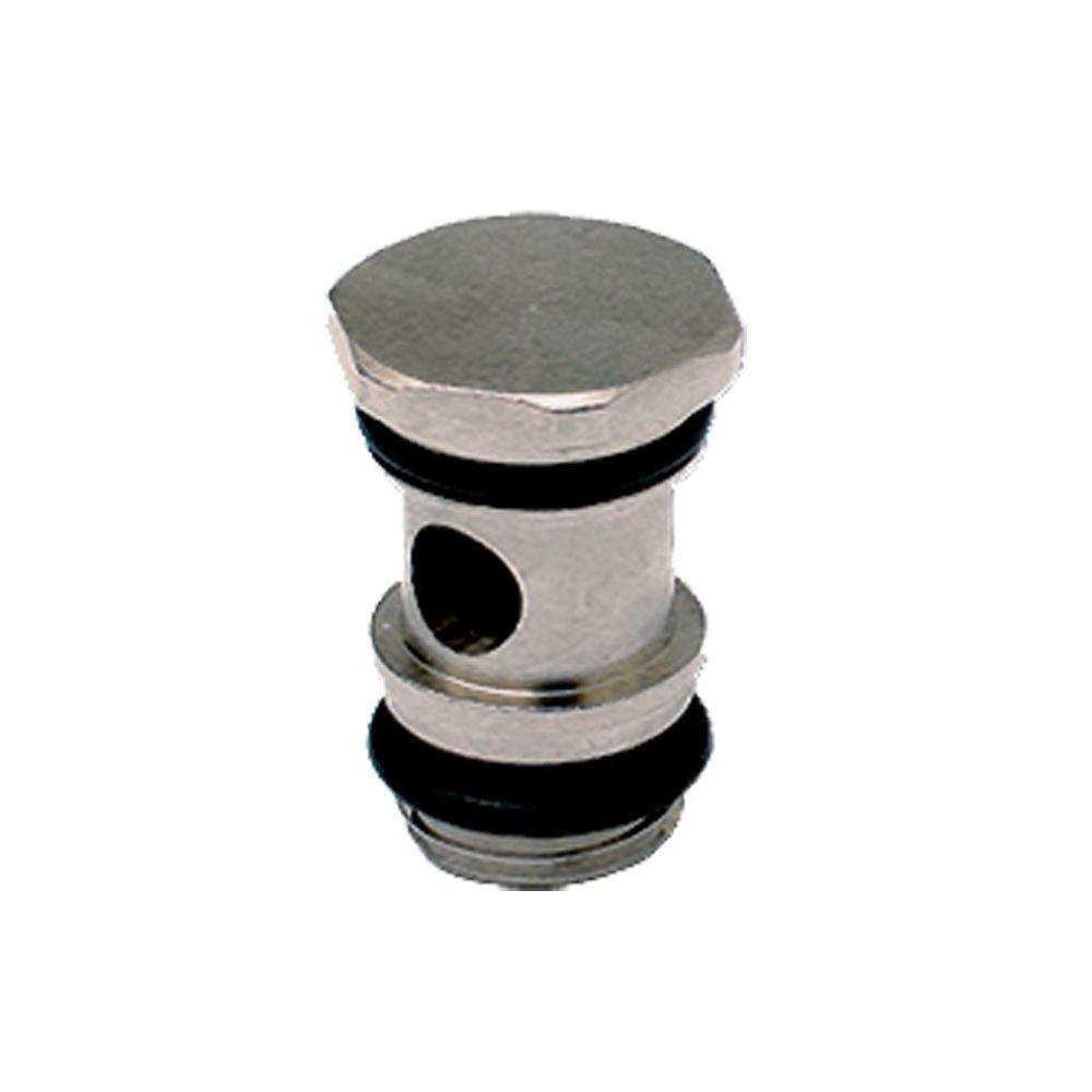 Male Bolt 1//8 BSPP Single Banjo Bolt Pack of 20 Parker 68BJB-2G-pk20 Composite Push-to-Connect Fitting Brass 1//8