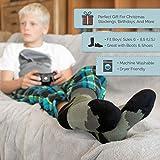 Hot Feet Boy's 2 Pairs Heavy Thermal Socks - Thick