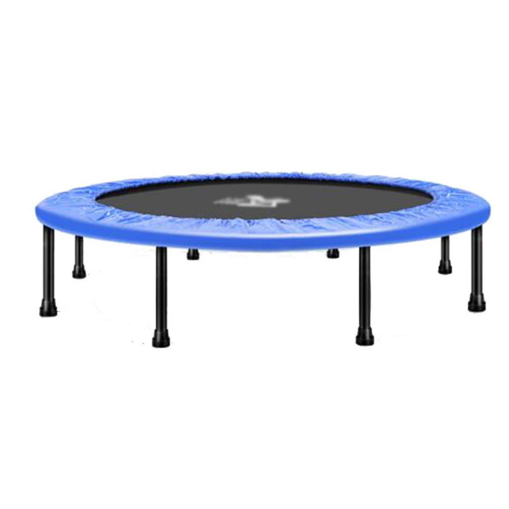 Trampoline Gewichtsverlust Erwachsene Haushalt Steigern der Tragkraft Kann 150 kg tragen (Farbe : Blau, Größe : 96  96  28cm)