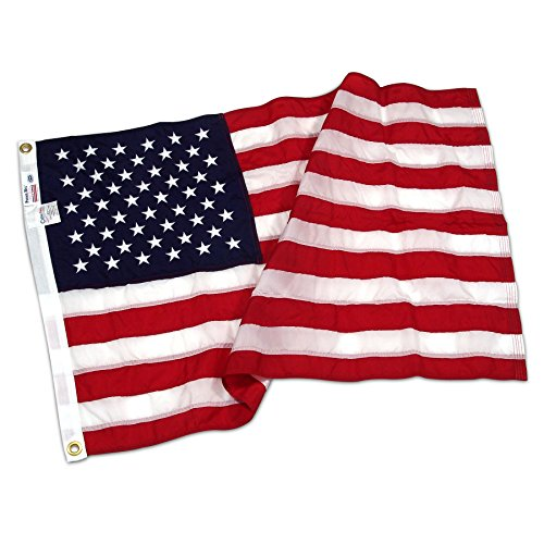 American Flag 4ft x 6ft Nylon Flag by Valley Forge - FG-USA46N
