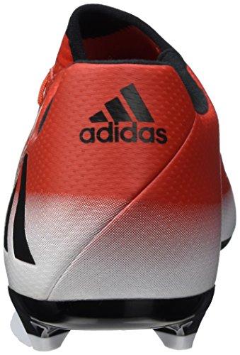 adidas Messi 16.3 Fg, Zapatillas de Fútbol para Hombre Rojo (Red/core Black/ftwr White)
