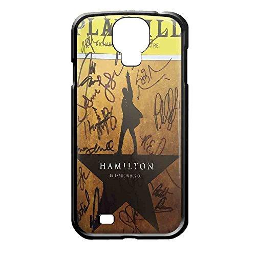Playbill Hamilton Signatures iPhone case and samsung galaxy case (Samsung Galaxy S4 Black)