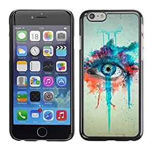 Graphic4You CGI Eyes Manipulation Design Hard Case Cover for Apple iPhone 6