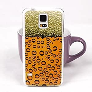 TOPMM Nice Beer Pattern PC Back Case for Samsung S5/I9600
