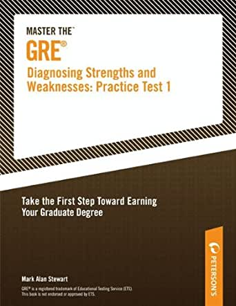 master the gre diagnosing strengths and