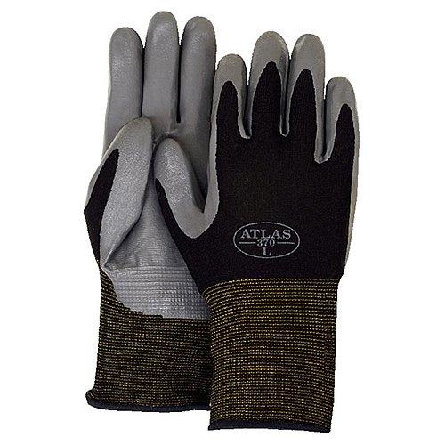 Majestic Glove 3261/S Industrial Glove, Atlas 370 Nitrile...