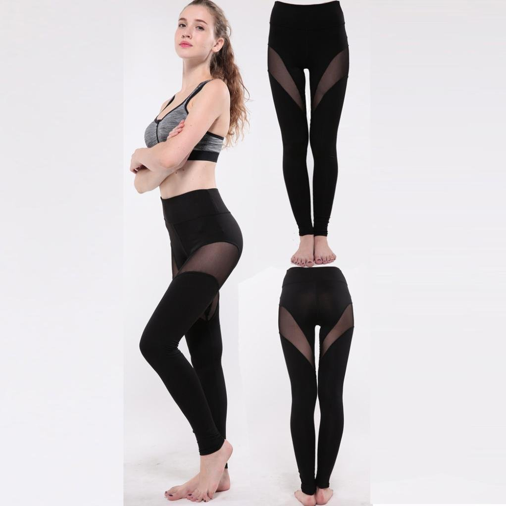 Amazon.com: Middle-Waisted Skinny Leggings ,Prettymenny ...