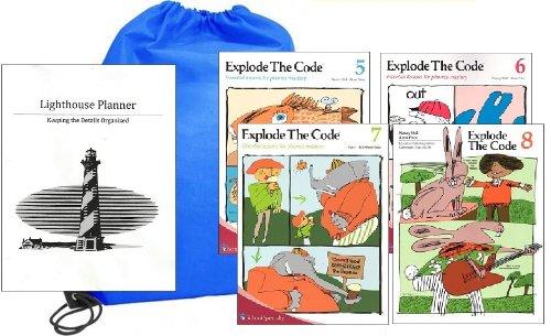 (Explode the Code Workbooks 5-8 Homeschool Kit in a)