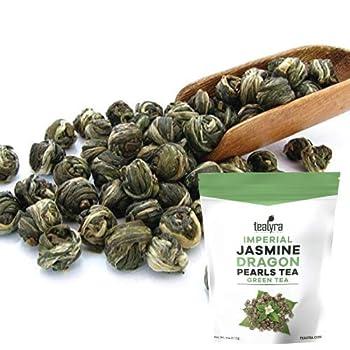 Tealyra Jasmine Loose Leaf Organic Green Tea