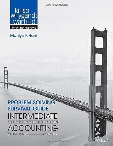 amazon com problem solving survival guide to accompany intermediate rh amazon com intermediate accounting problem solving survival guide i & ii Intermediate Accounting 1 Final Exam