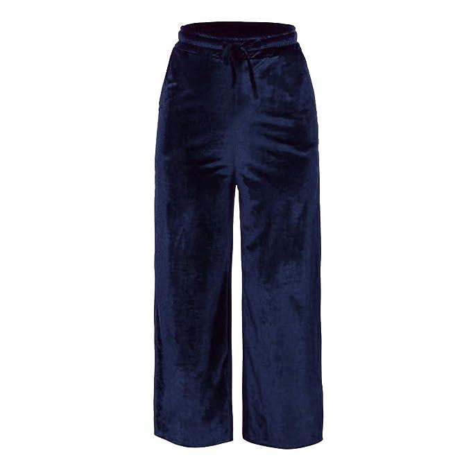 Cocoty-store 2019 Pantalones Anchos de la Pierna Suelto ...