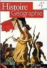 Histoire Géographie. 4e par Scheibling