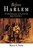 img - for Before Harlem: The Black Experience in New York City Before World War I (Politics and Culture in Modern America) book / textbook / text book