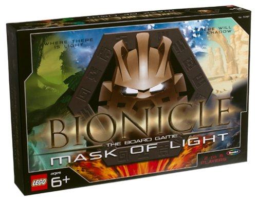 Bionicle Mask Light Lego Board