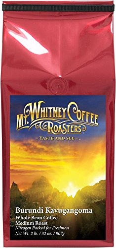 Mt. Whitney Coffee Roasters Burundi Kavugangoma Ground Coffee Medium Roast, 2 Pound