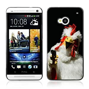 YOYOSHOP [Killer Rooster] HTC One M7 Case by Maris's Diary
