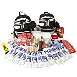 Urban Survival Bug Out Bag, Choose from 2 or 4 Person Emergency Disaster Kit, 72-hour, Emergency Zone Brand (4 Person) by Emergency Zone