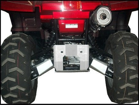 Yamaha Grizzly 660 Aluminum 5 Piece A-ARM /CV Boot Guard Set by Ricochet for 2002, 2003, 2004, 2005, 2006, 2007, 2008 Models