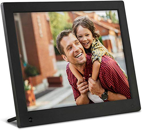 NIX Advance 15-Inch Digital Photo Frame - HD Digital Photo & Video Frame with Motion Sensor, Auto Rotate, Slideshow, Calendar View & USB/SD Card Slot