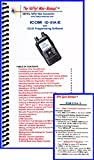 step up step 2 cs - Icom ID-51A /E Mini-Manual & Ref Card Combo by Nifty Accessories