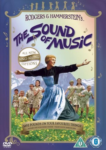 The Sound Of Music Sing-Along Edition (1 Disc) [DVD] [1965] [Region 2] [UK Import] (Seven Brides For Seven Brothers Sheet Music)
