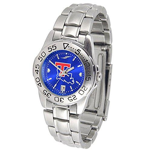Sport Tech Bulldogs Louisiana Watch (New Linkswalker Louisiana Tech Bulldogs Ladies' Sport Steel Anochrome Watch)