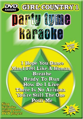 Party Tyme Karaoke: Girl Country, Vol. (Party Tyme Karaoke Dvd)