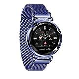 Cobcob Women's Smart Watch 2019 Sport Fitness Waterproof Ladies Smart Bracelet Wristwatches Blood Pressure Activity Tracking Gift for Women (Dark Blue)
