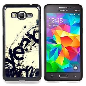 """Qstar Arte & diseño plástico duro Fundas Cover Cubre Hard Case Cover para Samsung Galaxy Grand Prime G530H / DS (Moderno Ecosistema Arte Wave Destrucción"""")"""